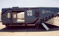 Cabine 1,82 m at Le Bourget 2003